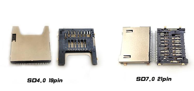 SD7.0卡座连接器&SD4.0卡座连接器